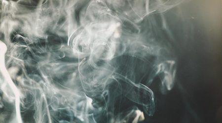 Puff of vape smoke