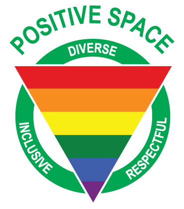 Positive Spare. Diverse, Inclusive, Respectful.